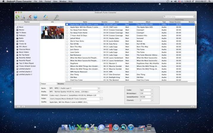 Ondesoft iTunes Converter mac