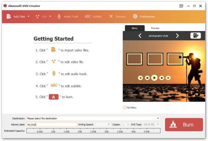 Aiseesoft DVD Creator mac