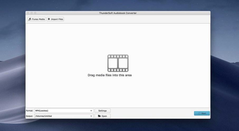 ThunderSoft Audiobook Converter mac