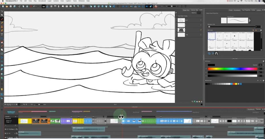 Toon Boom Storyboard PRO Mac