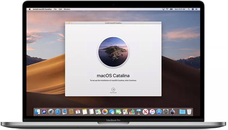 Update MacOS Catalina 10.15.7