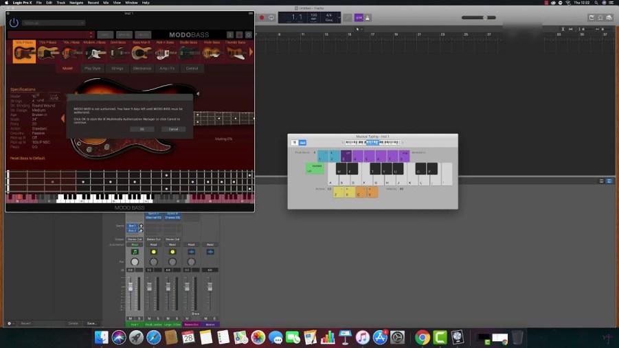 IK Multimedia Modo Bass Mac