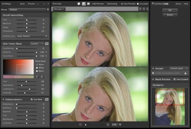 Imagenomic Portraiture for Lightroom Mac