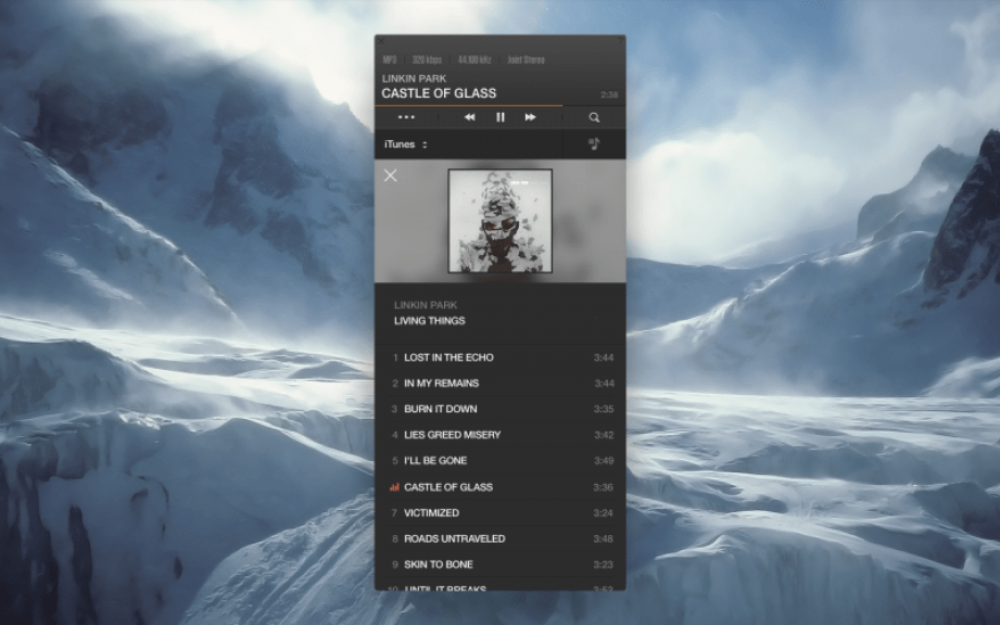 VOX Music Player Mac