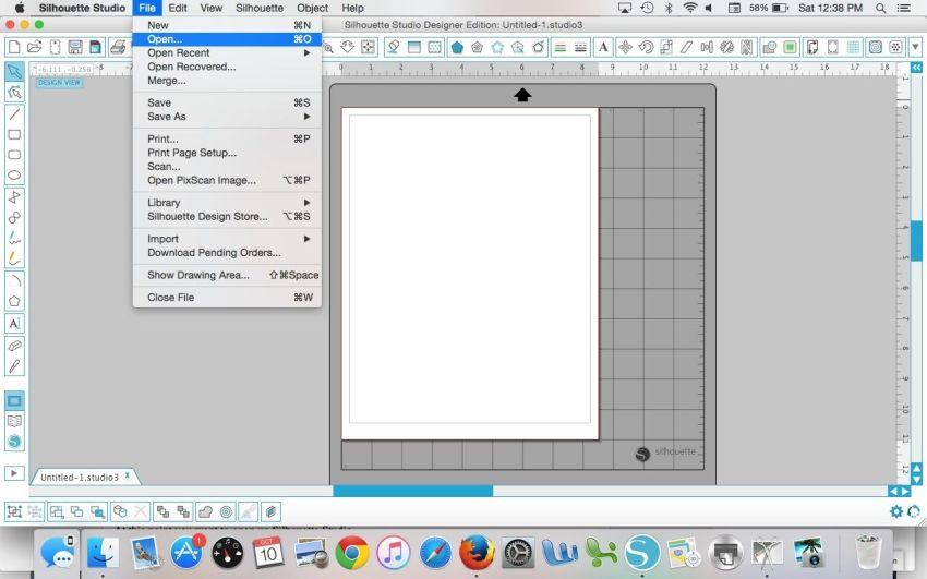 Silhouette Studio Mac