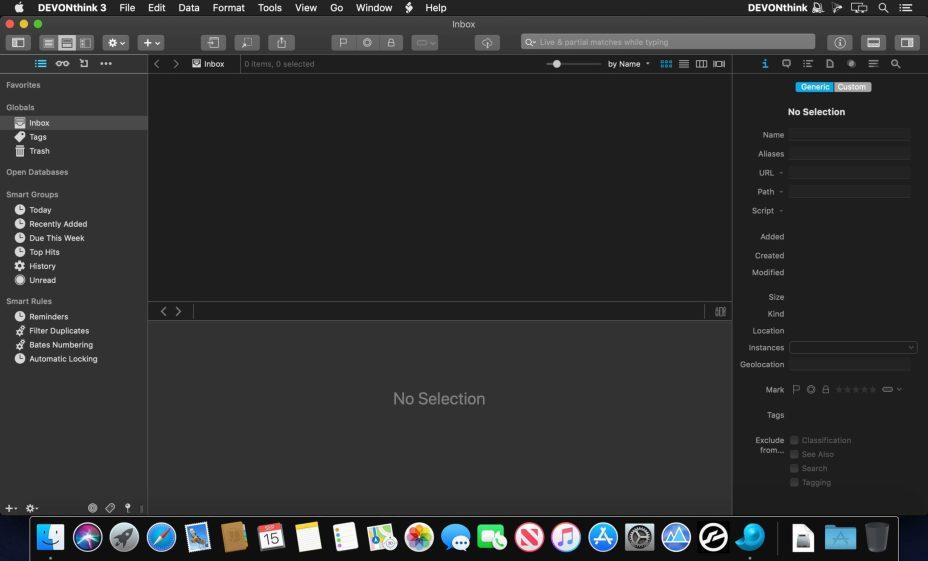 DEVONthink Pro mac