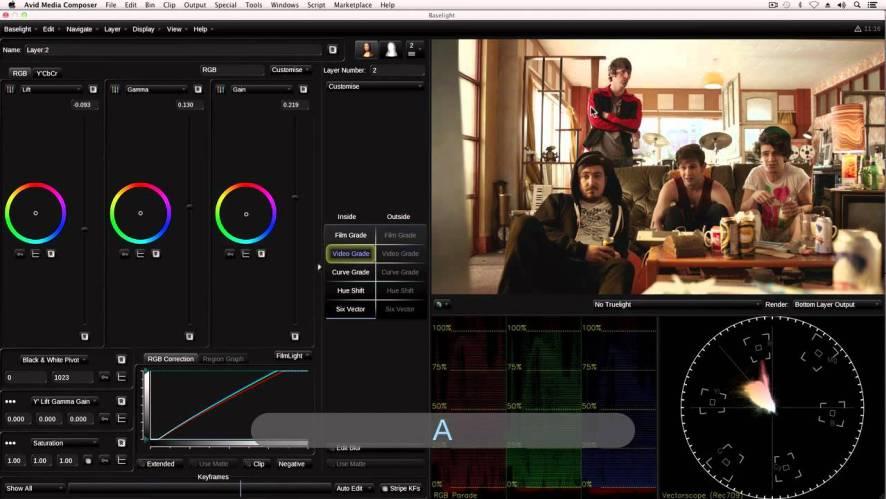 FilmLight Baselight for Avid Mac