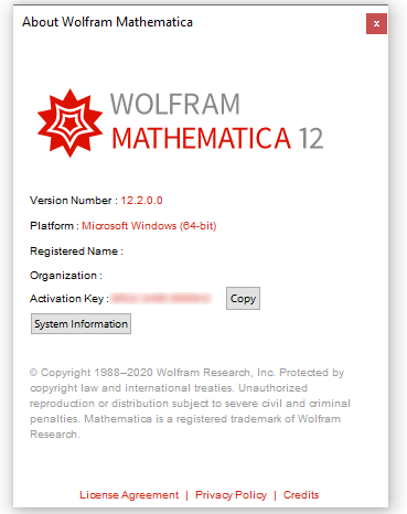 Mathematica Mac