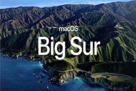 Big Sur mac