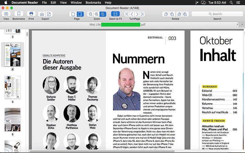 Cisdem Document Reader for mac