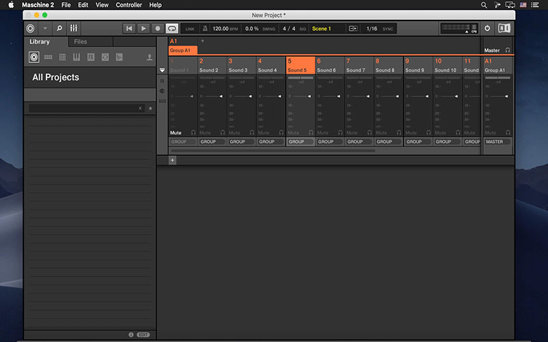 Native Instruments Maschine for mac