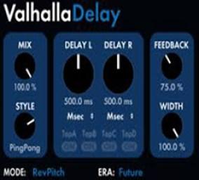 Valhalla Delay Mac