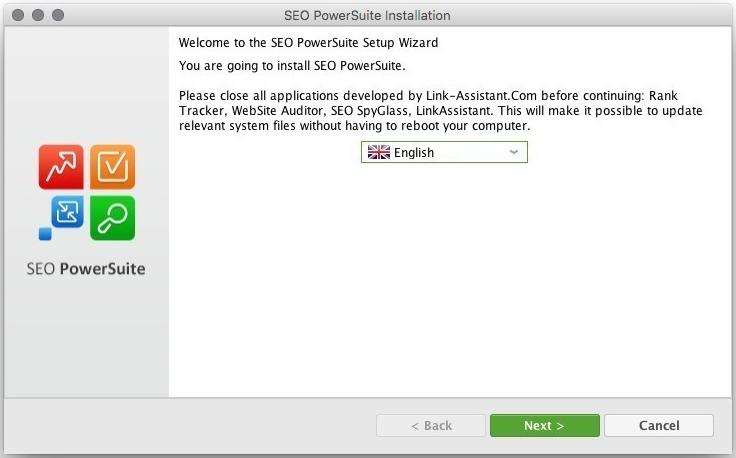 SEO PowerSuite Mac