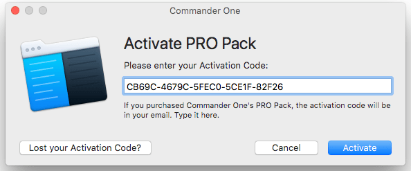 Commander One Pro Pack download