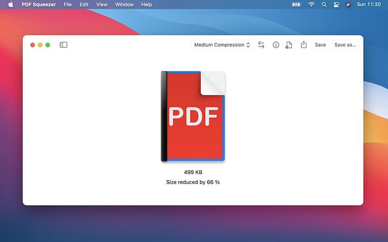 PDF Squeezer 4 Mac
