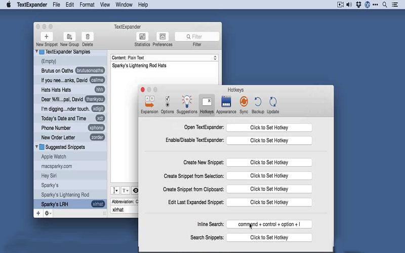TextExpander for mac