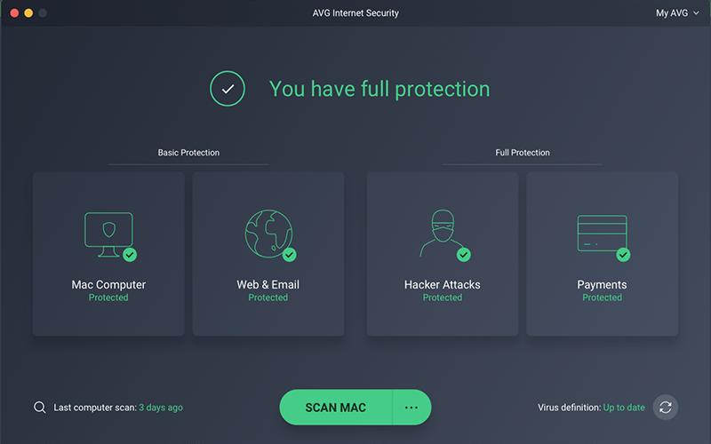 AVG Internet Security mac