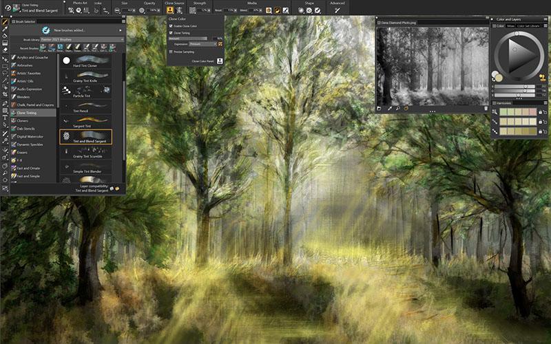 Corel Painter 2022 Mac