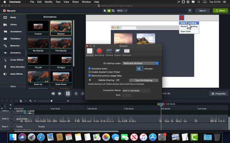 TechSmith Camtasia for Mac