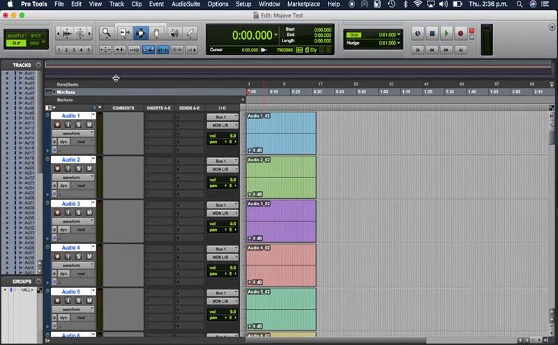Avid Pro Tools mac