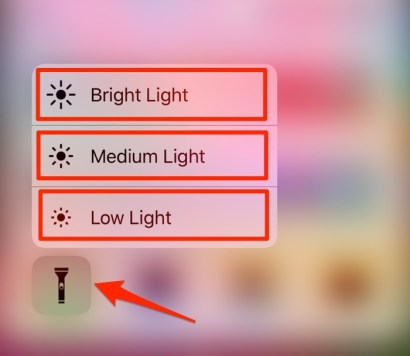 iOS 10 How to: Use and Adjust the iPhone Flashlight Function