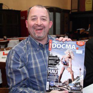 Thomas B. hat auch eine scharfe Ausgabe von DOCMA gewonnen