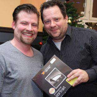 Auch Bernd A. gewann Fotopapier von TECCO