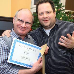 Hans L. gewann ein iPadLife-Jahresabo der Falkemedia