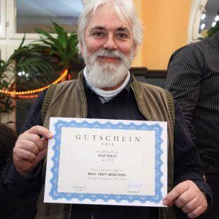 Karl Sch. gewann ein Macwelt-Jahresabo von IDG