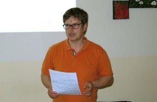 mit Peter Knoll von der 4Edition Agentur.