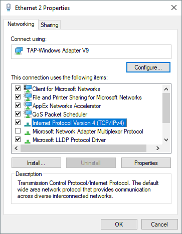 Windows 10 & Office 365 Cannot Connect Over OpenVPN Fixed