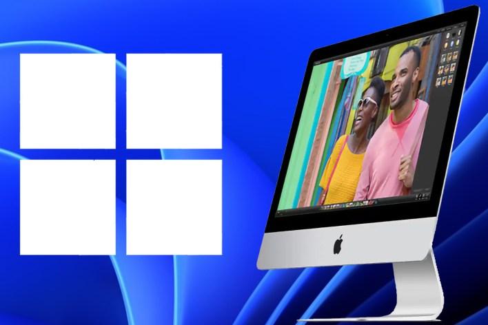 Windows 11 iMac