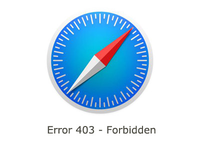 iOS 14 Safari 403 Forbidden error