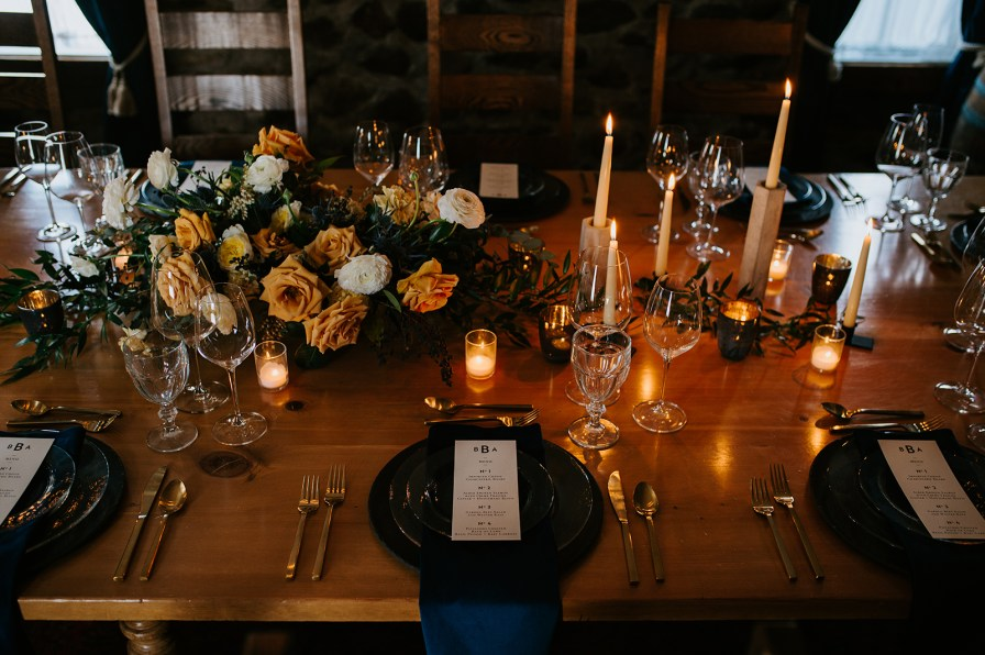 wine cellar intimate wedding