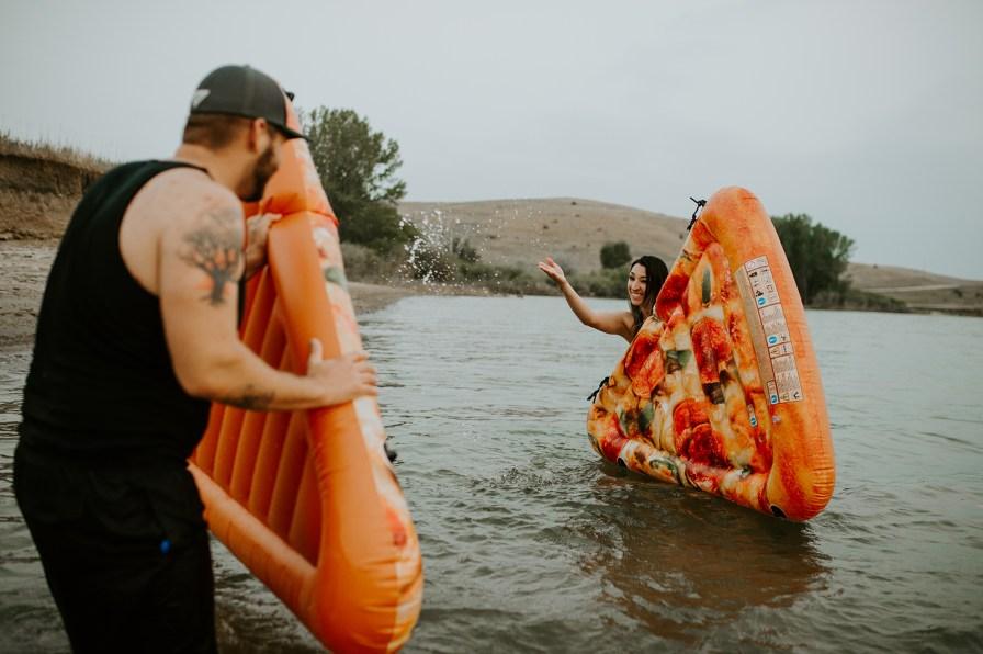 pizza floaties