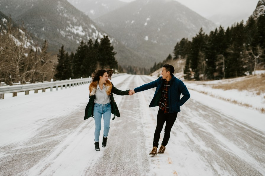 Red Lodge Montana engagement