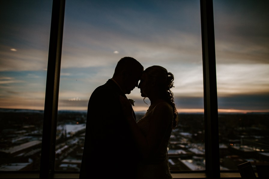 petroleum club Billings wedding