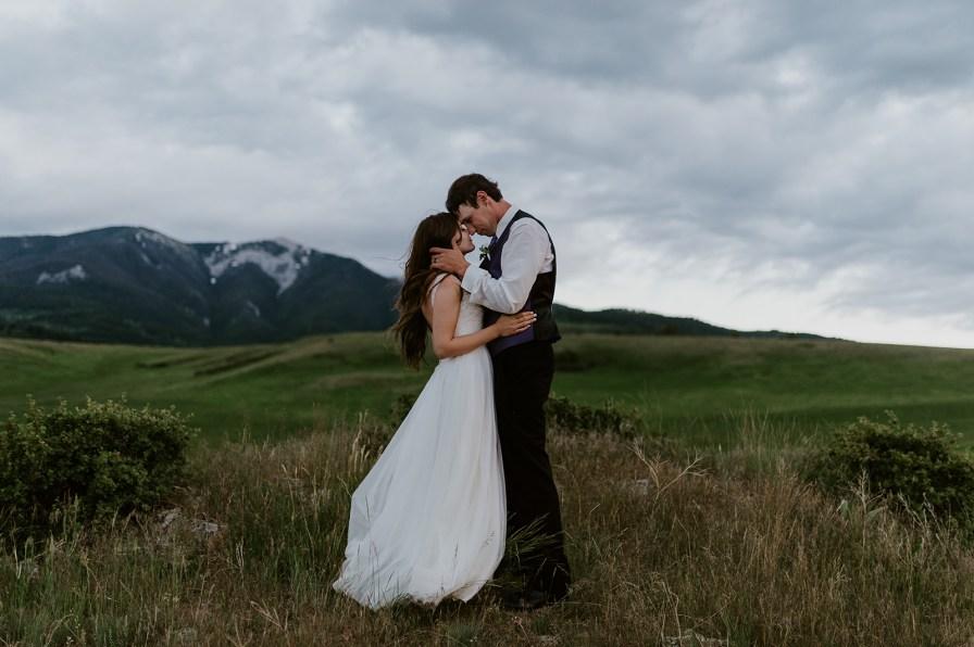 Livingston Montana wedding