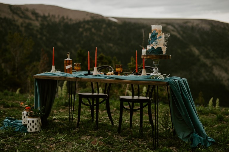 beartooth mountains elopement