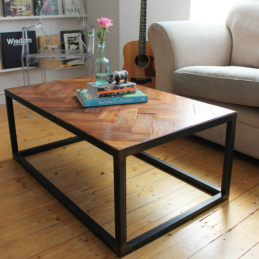 Objects Of Design 327 Upcycled Parquet Coffee Table
