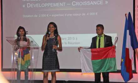 Hanta Tiana Ranaivo Rajaonarisoa, meilleure jeune entrepreneure de l'océan Indien