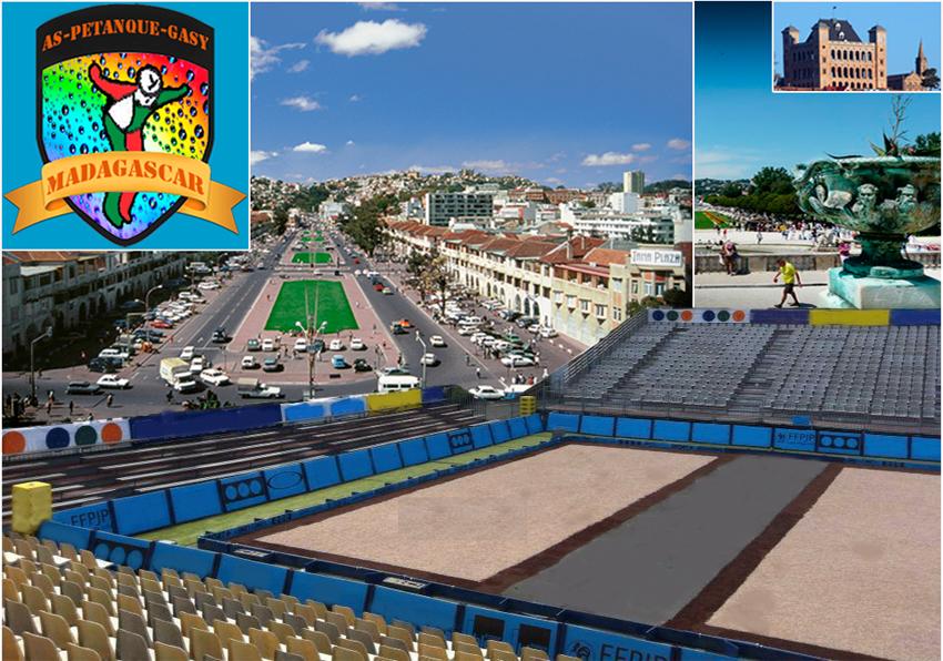 Madagascar accueillera le championnat du monde de Pétanque 2016