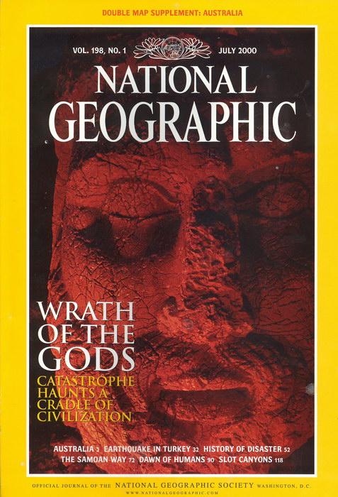 National Geographic Magazine July 1977