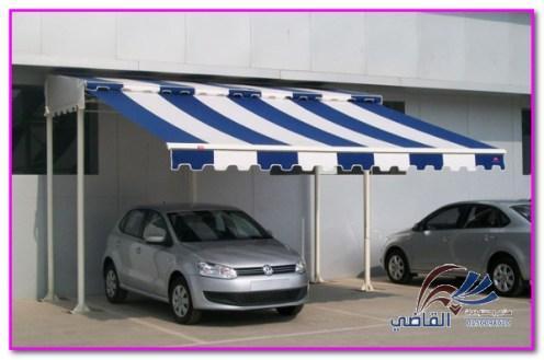 مظلات سيارات متحركة