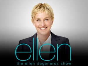 Welcome in the Ellen show