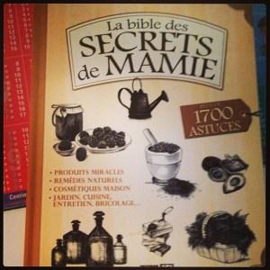 La bible des secrets de mamie
