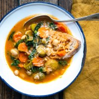 Ribollita: Toskanische Bauernsuppe