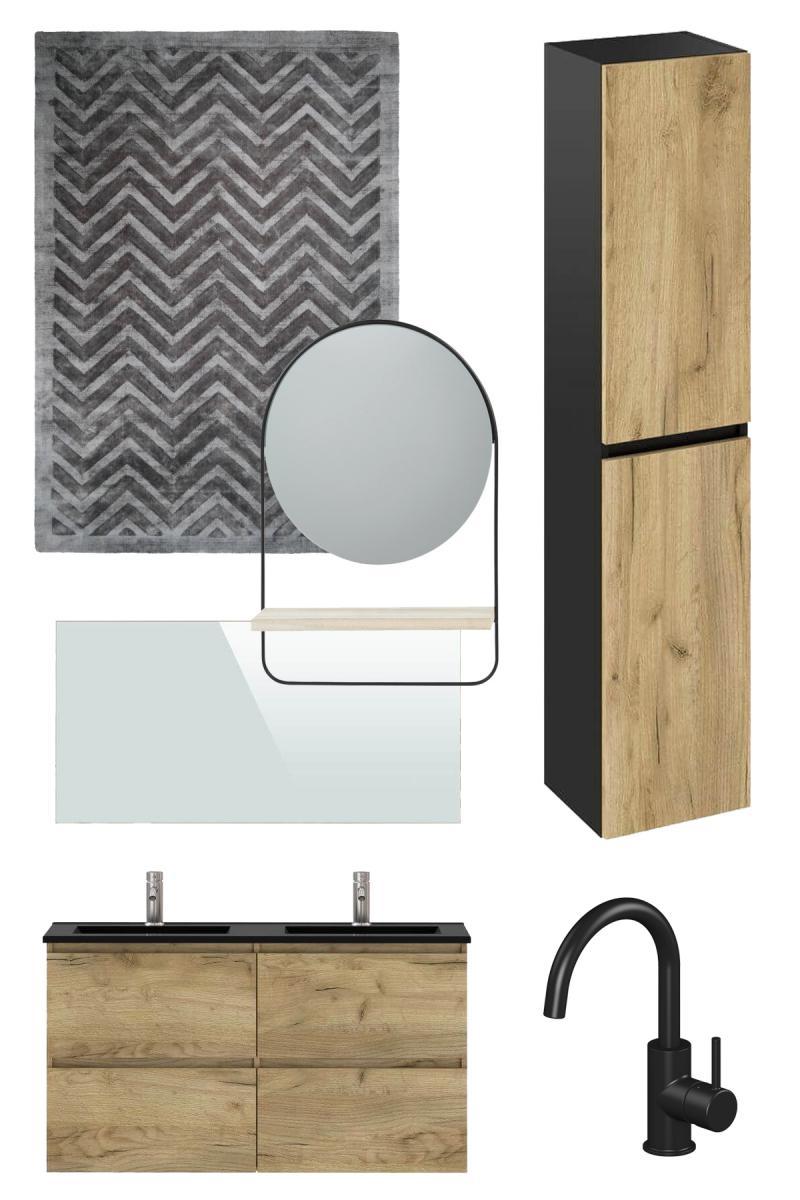 tendance une salle de bain en bois