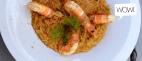 Κριθαρότο με γαρίδες & φοινόκιο