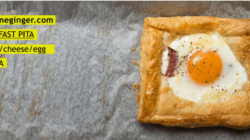 Αλμυρή Τάρτα με σαλάμι, γραβιέρα & αυγό